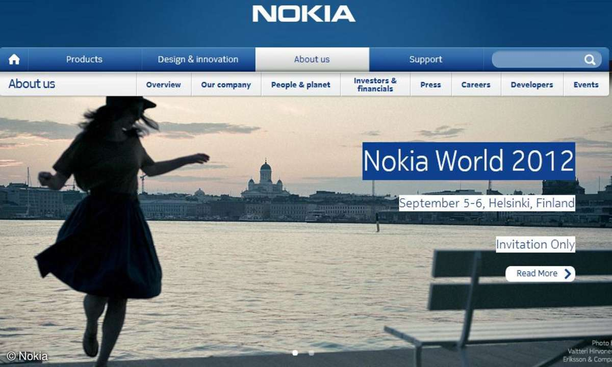 Nokia, Nokia World 2012