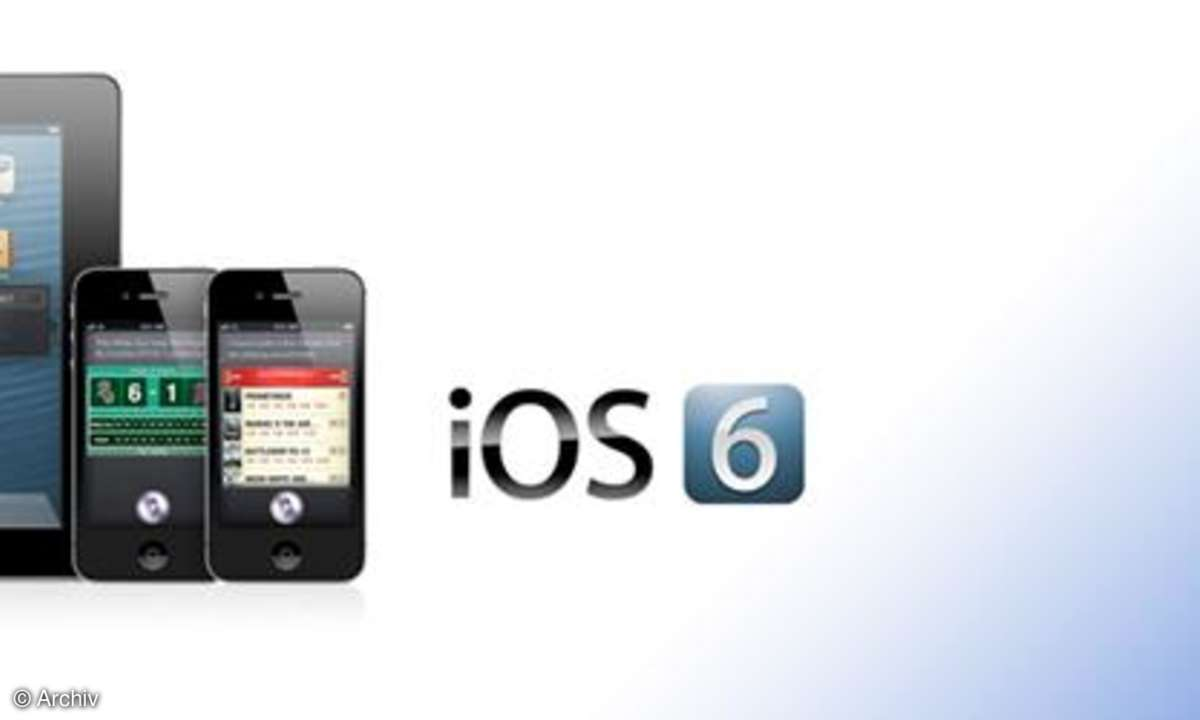 iOS 6 mit 200 neuen Funktionen vorgestellt