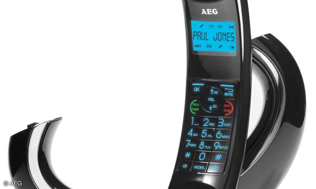 AEG Eclipse - Schnurlostelefon mit Design-Preis