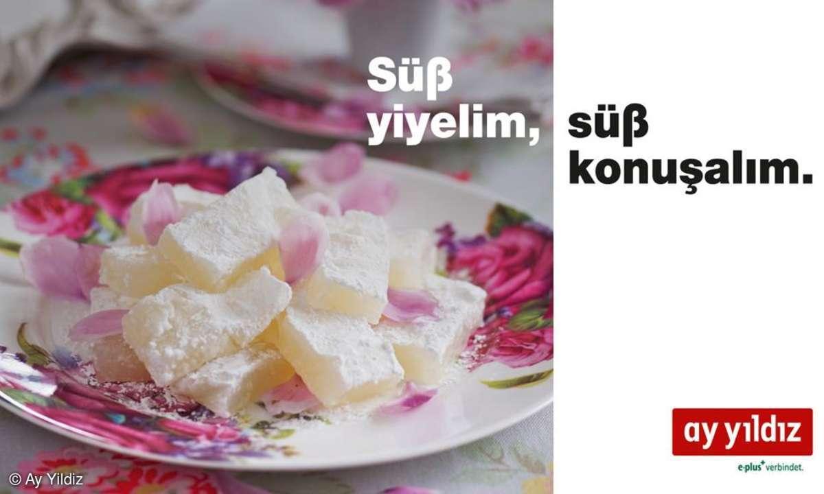 Ay Yildiz, Zuckerfest Aktion