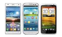 Galaxy S3, HTC One X, LG 4X HD