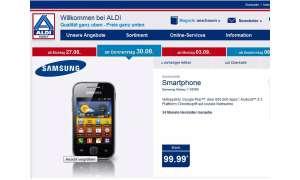 Aldi: Samsung Galaxy Y für 100 Euro