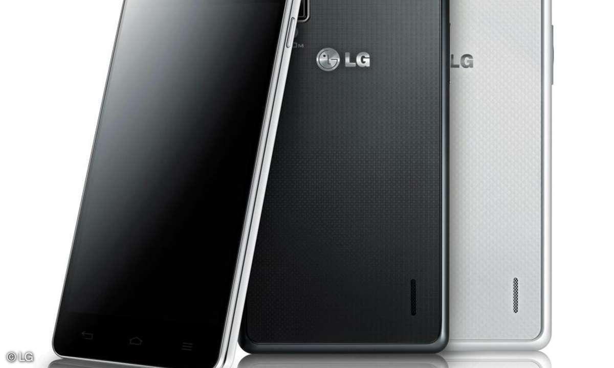 LG Optimus G, LG LTE Smartphone