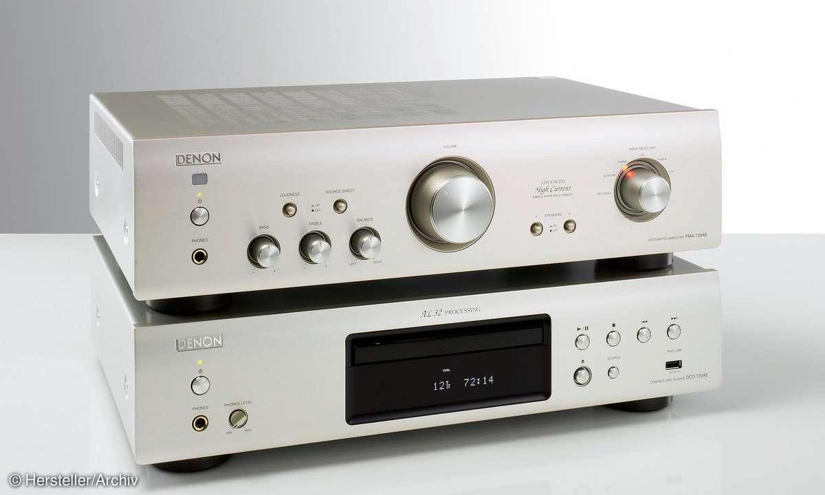 Denon DCD-720 AE  / Denon PMA-720 AE