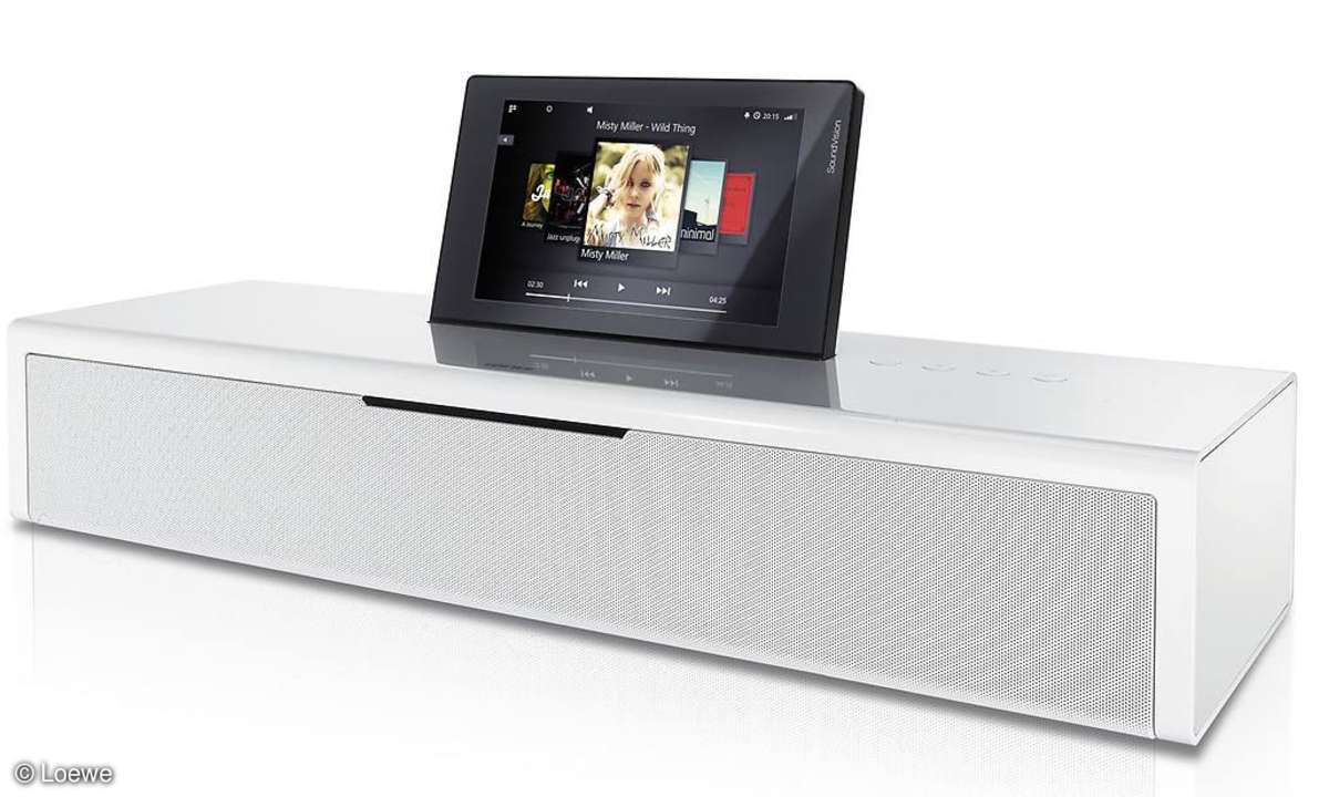 Loewe SoundVision: Elegante Musikanlage