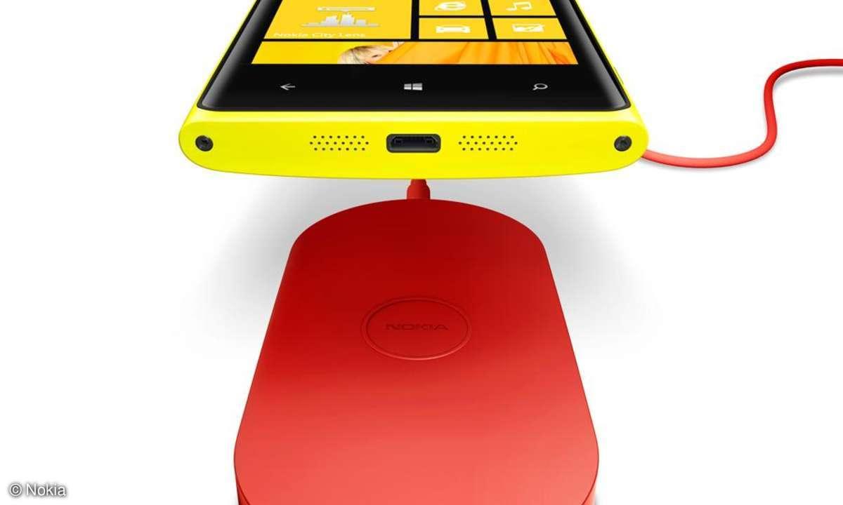 Nokia Lumia 920 induktives Laden