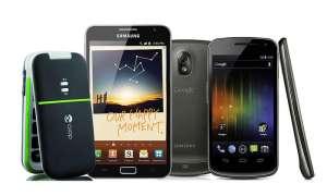 Strahlungsarme Smartphones