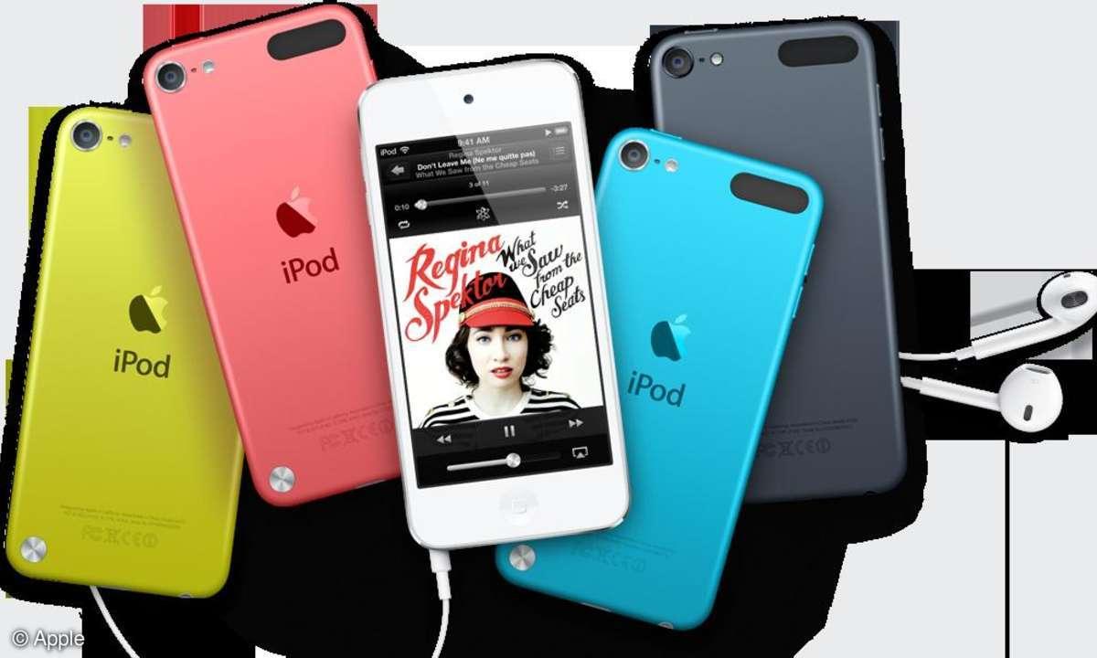 Die Rückseite des iPod Touch ist künftig nicht mehr aus Chrom und sollte deshalb weniger anfällig für Kratzer sein.