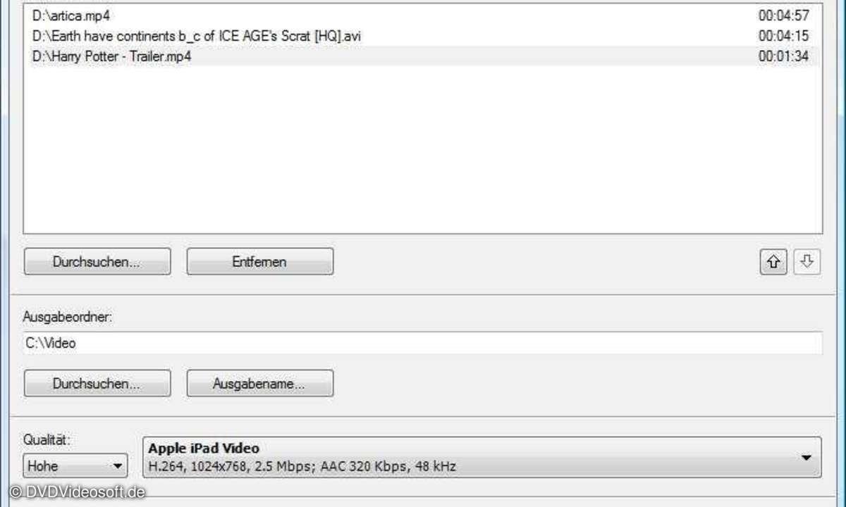 Free Video to iPad Converter 2.0
