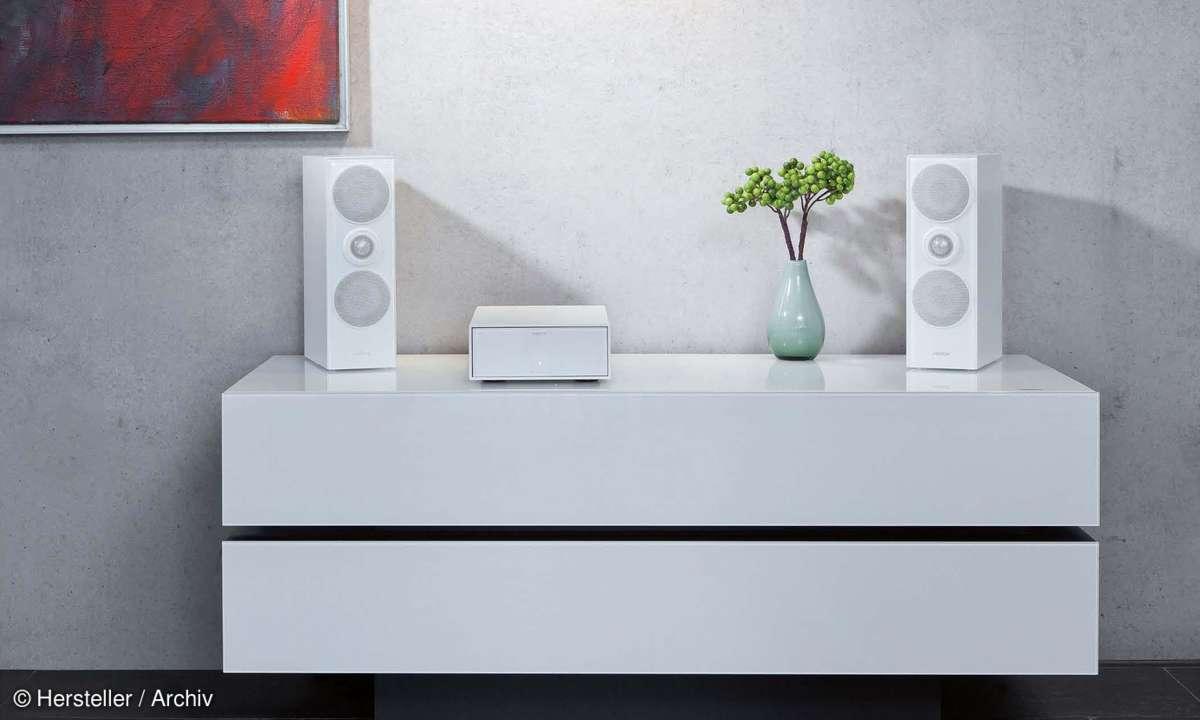 Revox Joy + Revox Re:sound G shelf