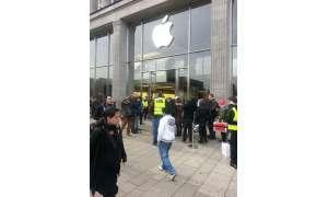 Marktstart iPhone 5 Jungfernstieg