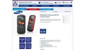 Samsung B2100 Xtreme, Aldi Nord Aktion