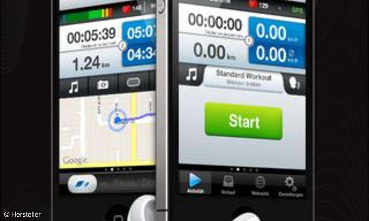 Runtastic GPS Coach