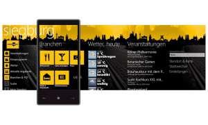 Windows App, Meinestadt.de