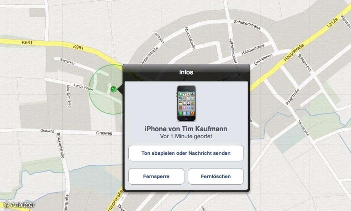 App: Mein iPhone suchen