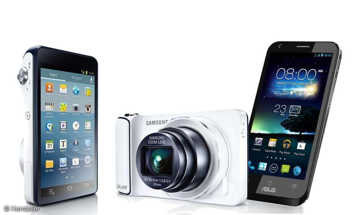 Galaxy Camera, Padfone 2
