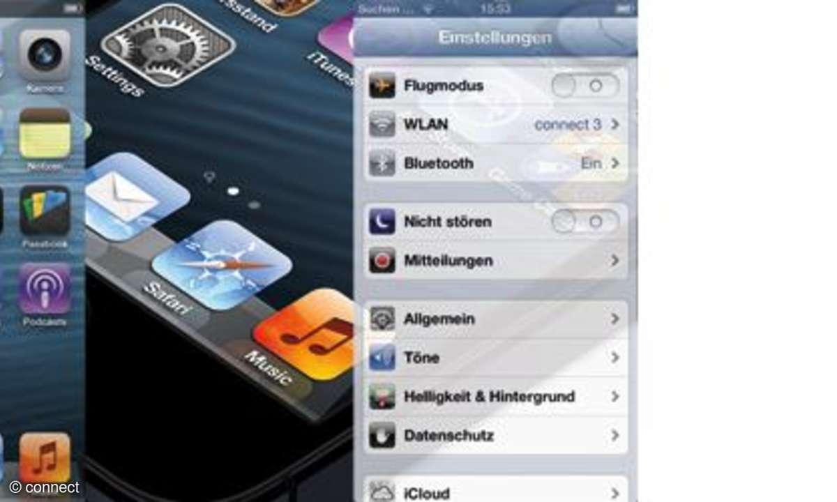 iPhone 5 Einstellungen