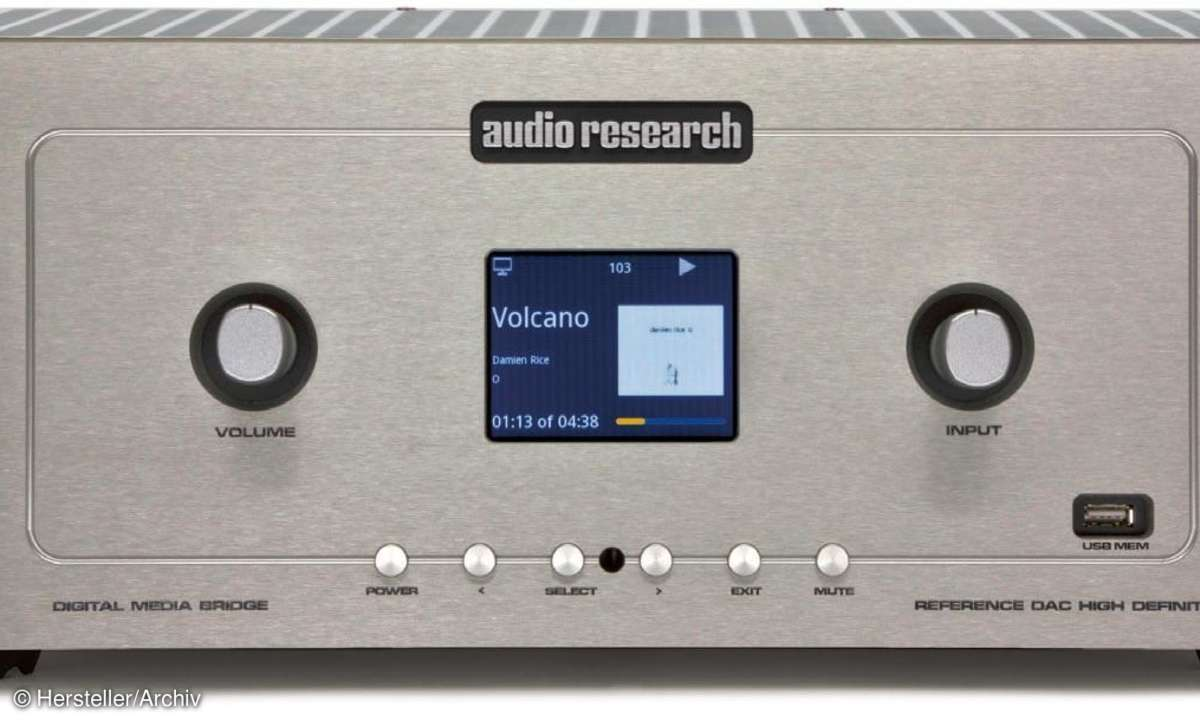 Audio Research Reference DAC Front