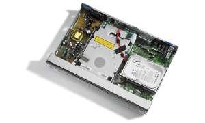 Pioneer DVR 555H (Innenansicht)