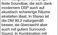 stereoplay, soundbar, DM 90.2, canton, soundbeamer