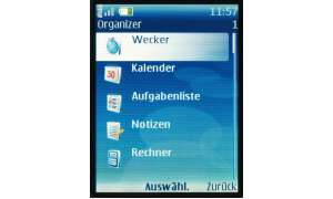 Organizer Nokia 6288
