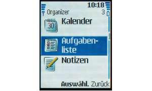Organizer Nokia 6080