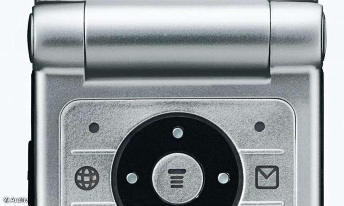 Front aufgeklappt Motorola W375
