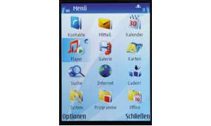 Hauptmenü Nokia N95