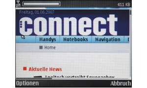 Nokia-E61i-Browser