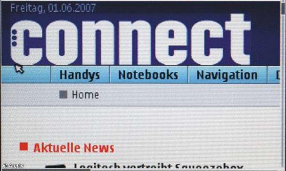Nokia-E61i-Browser