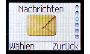 SMS-Manü