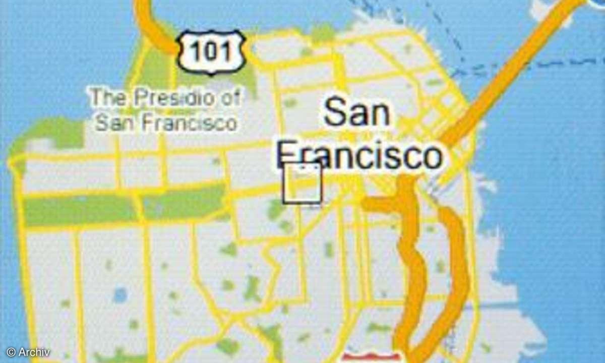 HP iPAQ 614c mit Google-Maps
