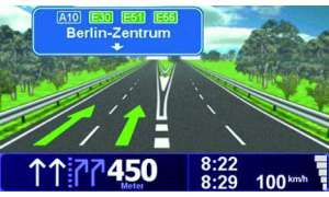 Screen TomTom Go 730T