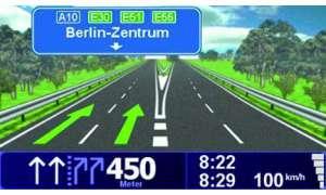 Screen TomTom Go 730T