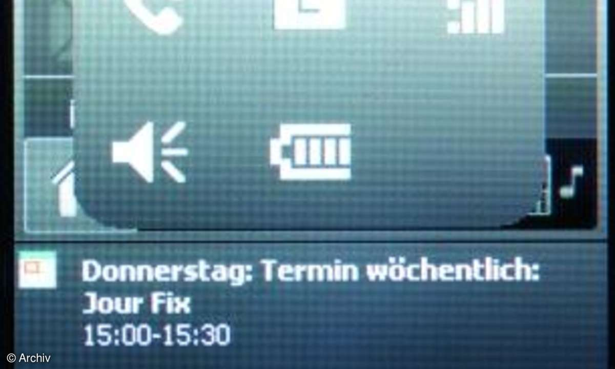 HTC P3470 Display