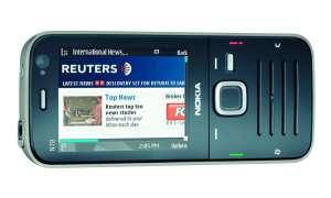 Nokia N78 Querformat