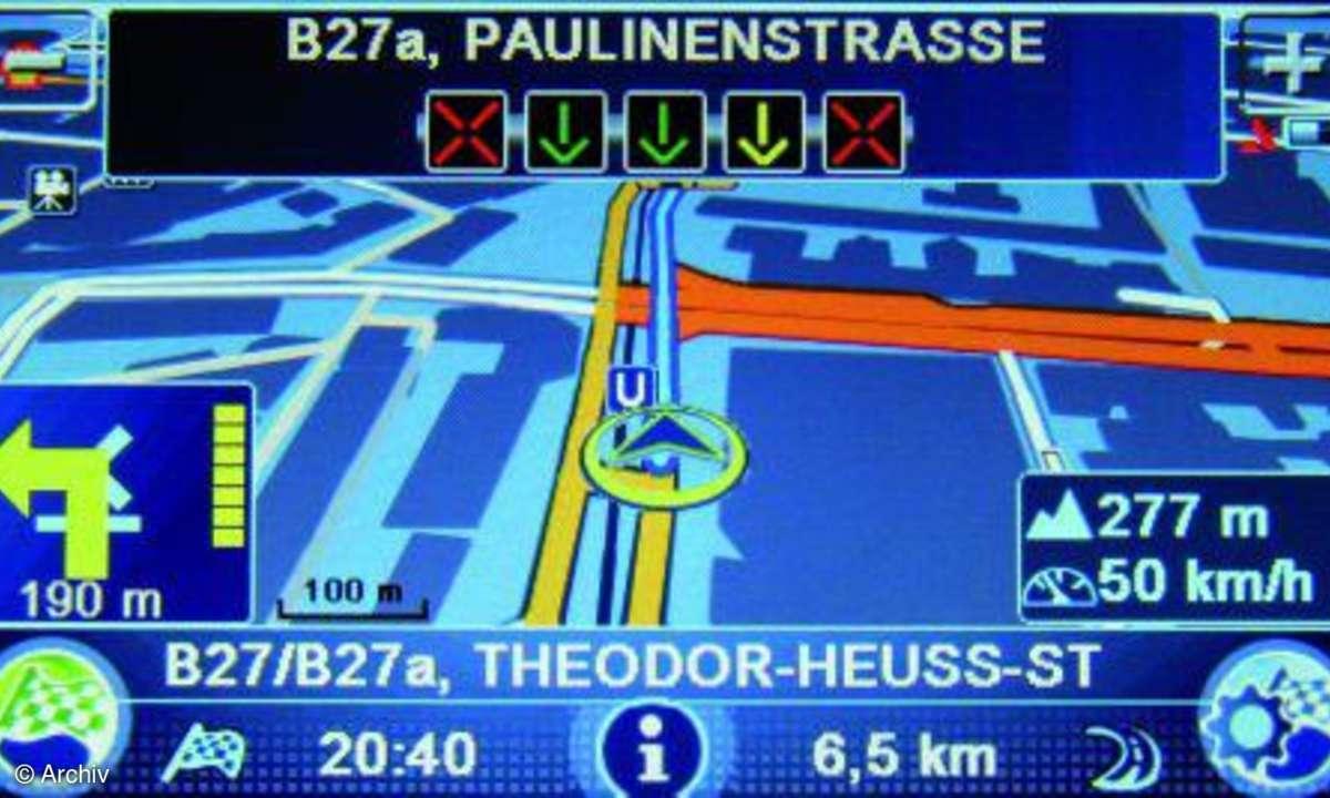 Testbericht Blaupunkt Travel Pilot 500