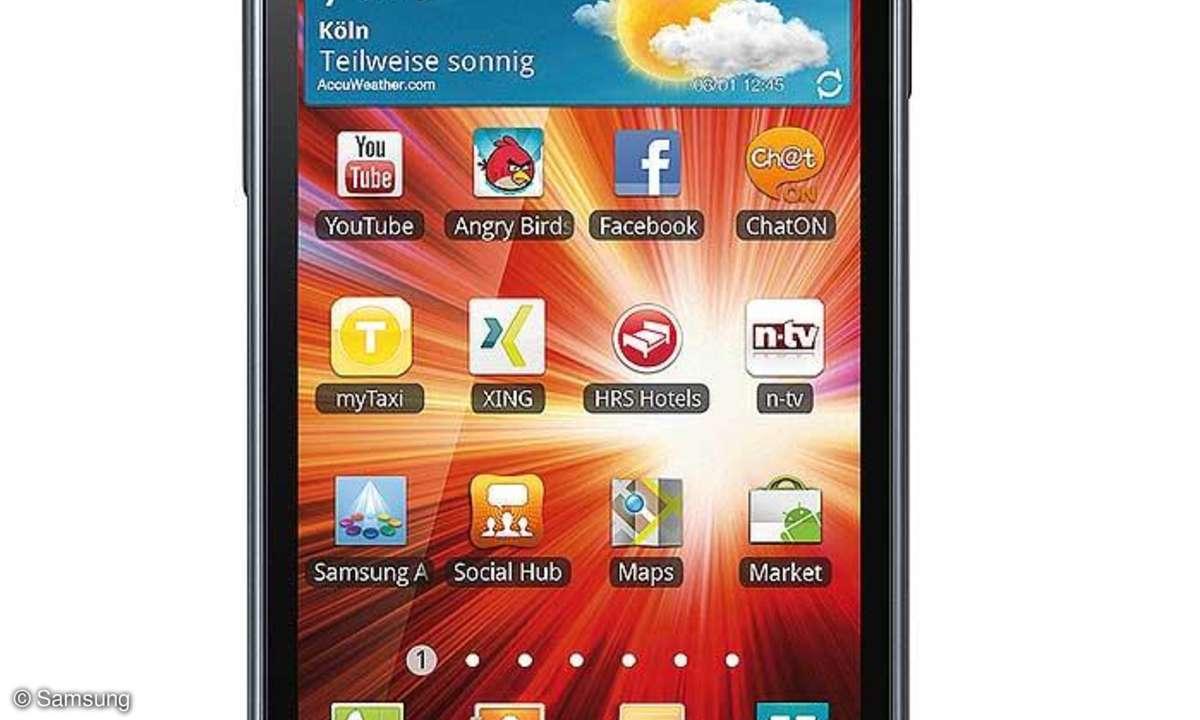 Samsung Galaxy S Advance (I9070P) im Praxistest