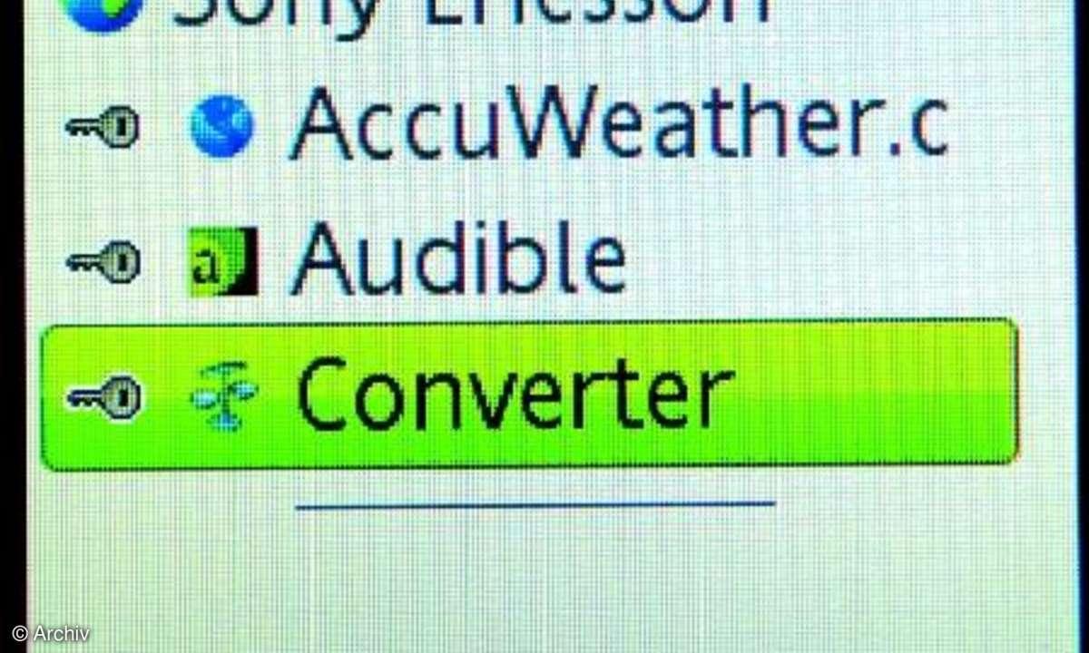 Converter-Funktion im Z770i