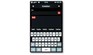 Samsung H1 Tastatur