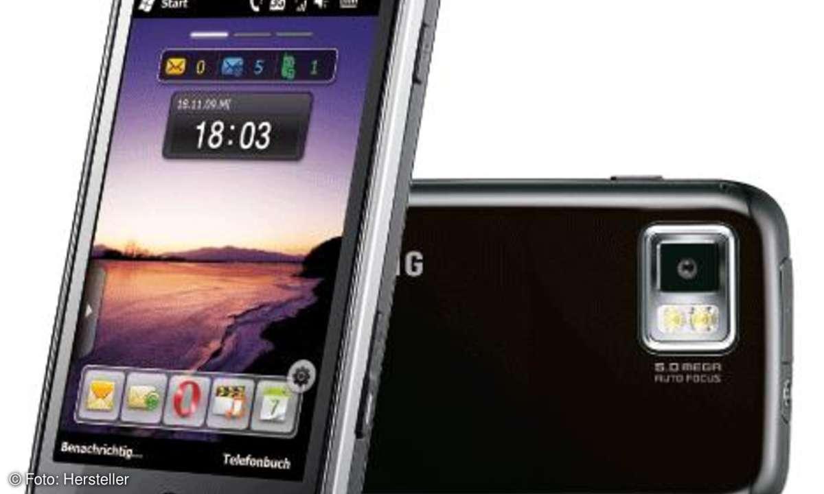 Samsung Omnia II Kamera