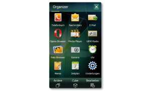 Samsung Omnia II Hauptmenü