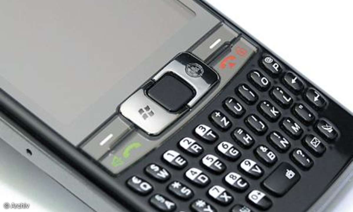 Samsung SGH-i780 mit Trackpad