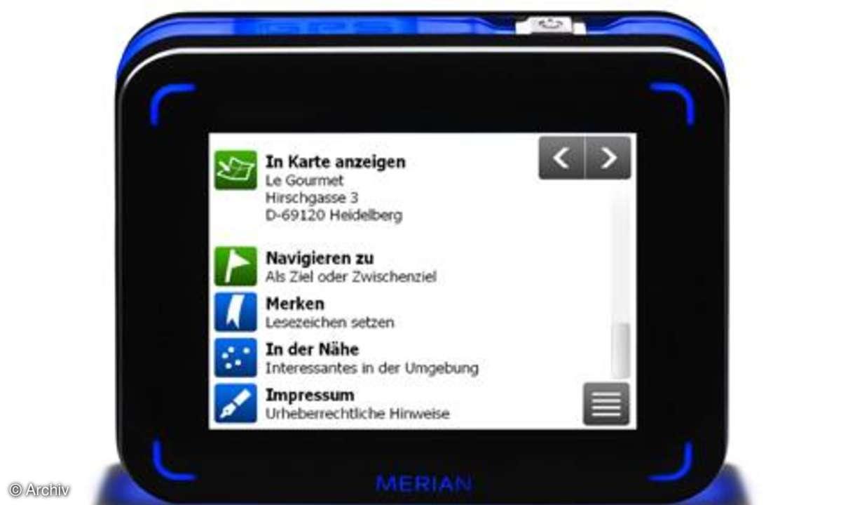 Merian Scout P_Navigator