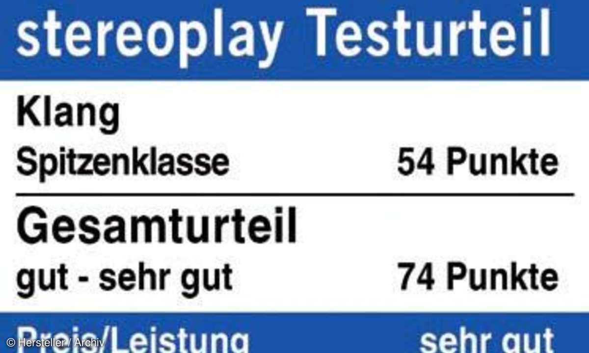 Stereoplay Testurteil: KEF R 500
