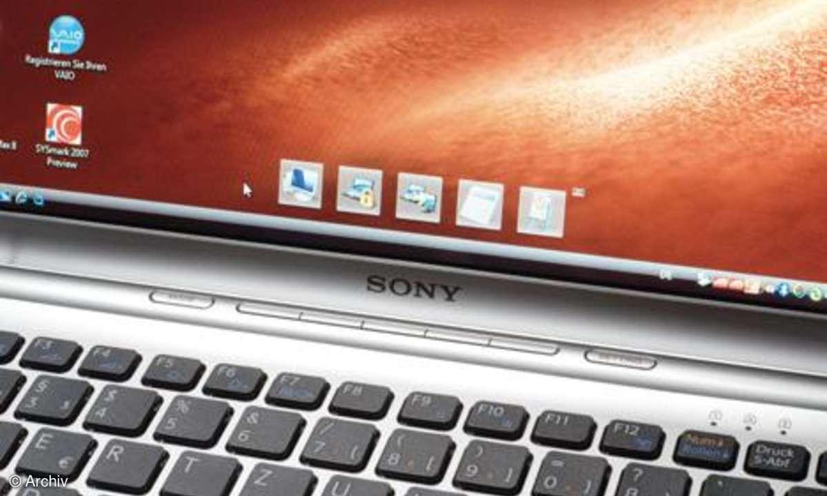 Testbericht Sony Vaio VGN-SR19NV