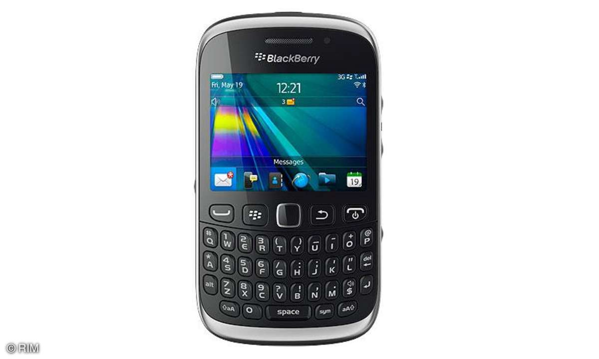RIM Blackberry Curve 9320 im Praxistest