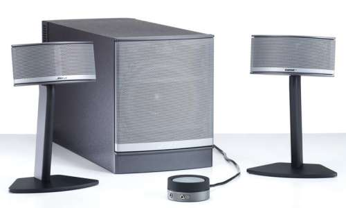 bose companion 5 lautsprecher system f r pc 2 1. Black Bedroom Furniture Sets. Home Design Ideas