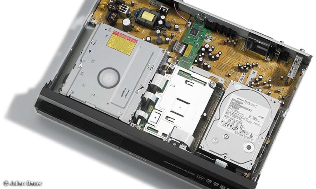 Panasonic DMR EH 775 (Innenansicht)