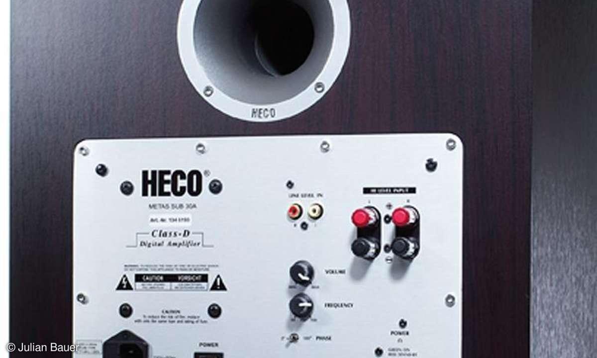 Heco Metas 300, Center 2, Sub 30 A